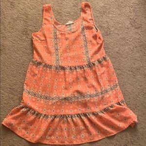 Dresses & Skirts - Pink Mini Boho Dress